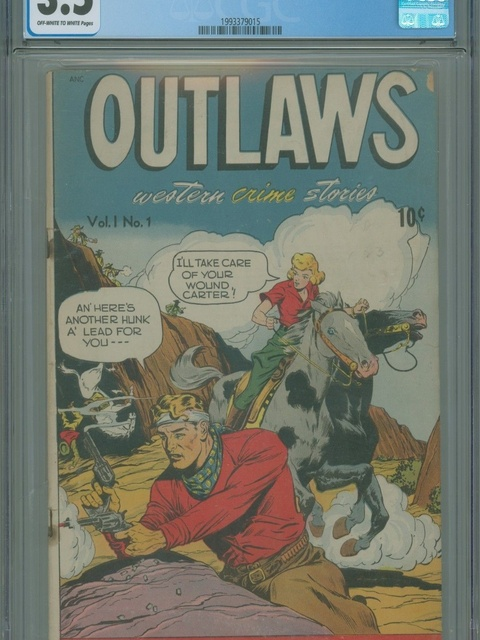Outlaws (1948 series) #v1#1
