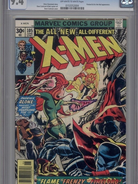 The X-Men (1963 series) #105 [30 cent cover]