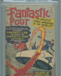 Fantastic Four (1961 series) #3 [Regular Edition]