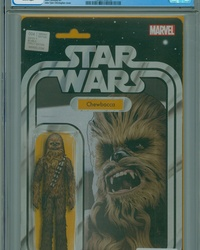Star Wars (2015 series) #4 [John Tyler Christopher Action Figure Variant (Chewbacca)]