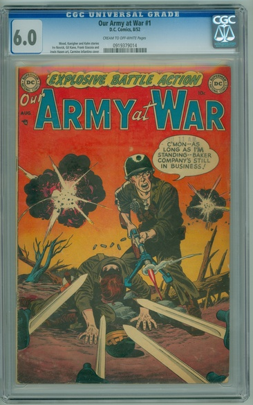 Our Army at War (1952 series) #1