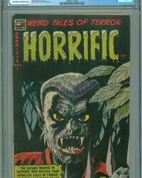 Horrific (1952 series) #8