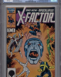 X-Factor (1986 series) #6 [Direct Edition]