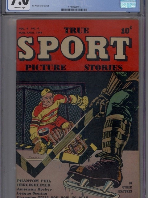 True Sport Picture Stories (1942 series) #v4#6