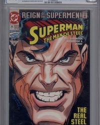 Superman: The Man of Steel (1991 series) #25 [Direct Edition]