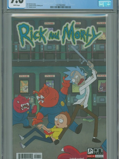 Rick and Morty (2015 series) #1 [Ryan Hill Cover]
