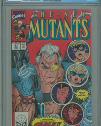 The New Mutants (1983 series) #87