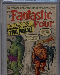 Fantastic Four (1961 series) #12 [Direct Edition]