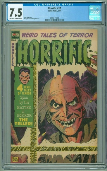 Horrific (1952 series) #10