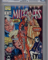 The New Mutants (1983 series) #98 [direct]