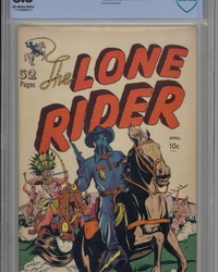 The Lone Rider (1951 series) #1