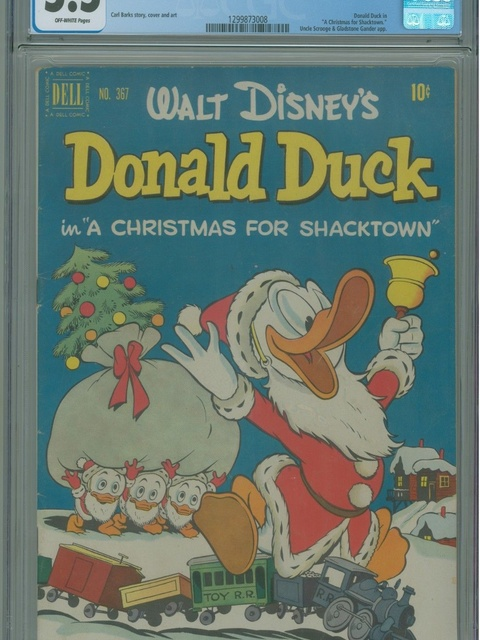 Four Color (1942 series) #367 - Walt Disney's Donald Duck in A Christmas for Shacktown