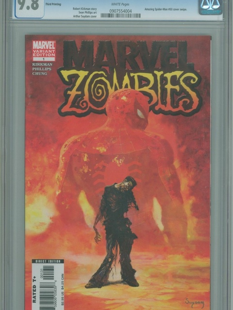 Marvel Zombies (2006 series) #1 [3rd Printing Variant by Arthur Suydam]