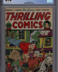 Thrilling Comics (1940 series) #55