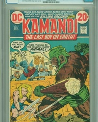 Kamandi, The Last Boy on Earth (1972 series) #5
