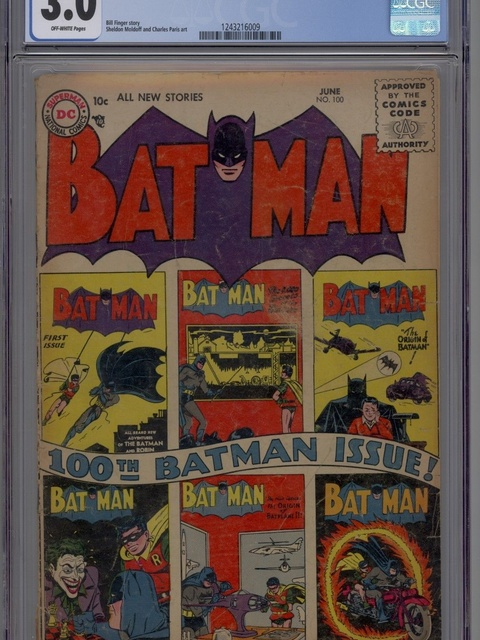 Batman (1940 series) #100