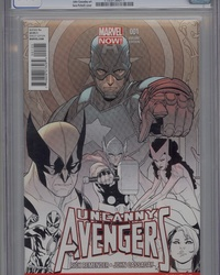 Uncanny Avengers (2012 series) #1 [Special NYCC Retailer Exclusive]