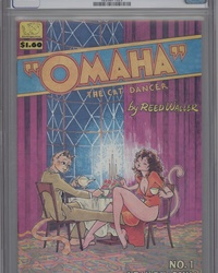 Omaha the Cat Dancer (1984 series) #1