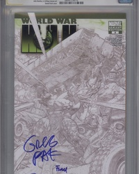 World War Hulk (2007 series) #3 [Sketch Variant Edition]