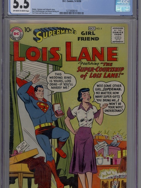 Superman's Girl Friend, Lois Lane (1958 series) #4