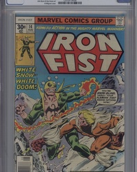 Iron Fist (1975 series) #14 [30¢ Cover Price]