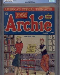 Archie Comics (1942 series) #36