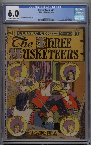 Classic Comics (1941 series) #1 - The Three Musketeers