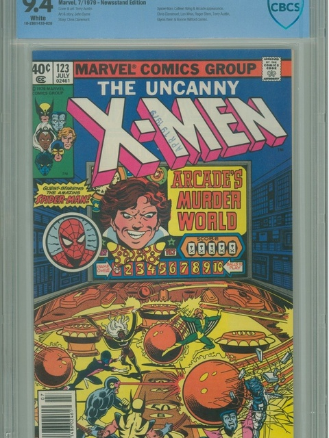 The X-Men (1963 series) #123 [Newsstand Edition]