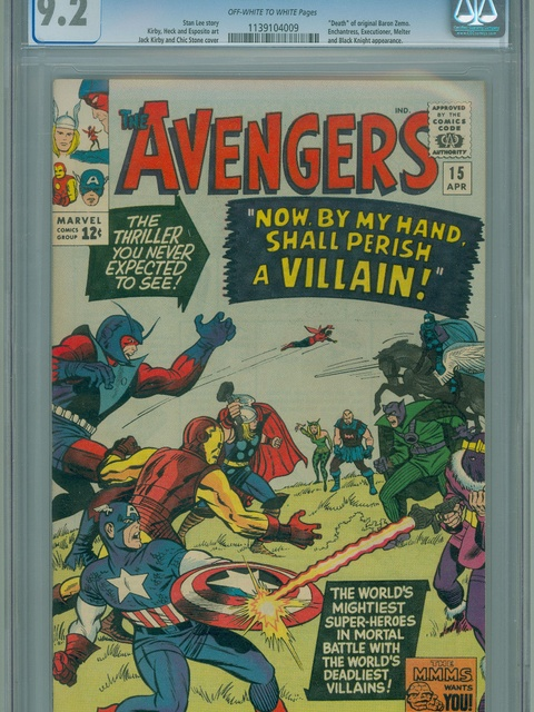 The Avengers (1963 series) #15