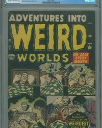 Adventures Into Weird Worlds (1952 series) #8