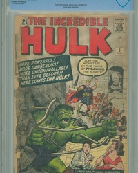 The Incredible Hulk (1962 series) #5 [Regular Edition]
