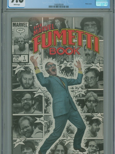 Marvel Fumetti Book (1984 series) #1