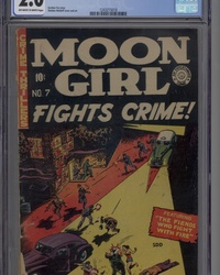 Moon Girl Fights Crime (1949 series) #7