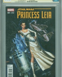 Princess Leia (2015 series) #1 [J. Scott Campbell Connecting Cover Variant]