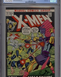 The X-Men (1963 series) #74