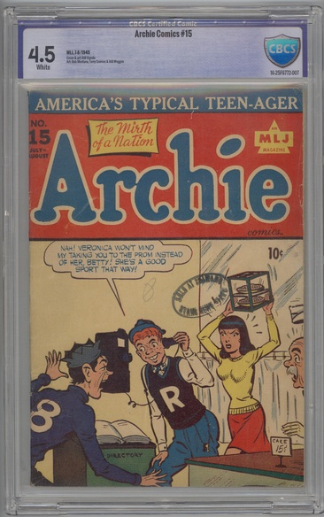 Archie Comics (1942 series) #15