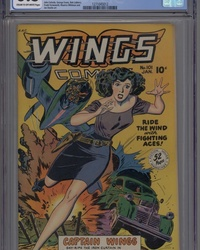 Wings Comics (1940 series) #101