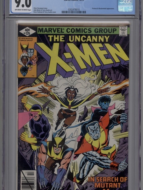The X-Men (1963 series) #126 [Direct Edition]