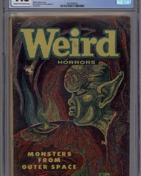 Weird Horrors (1952 series) #6