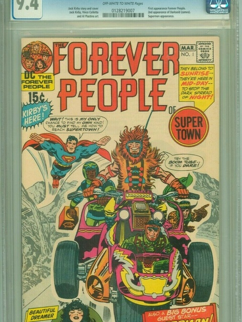 The Forever People (1971 series) #1