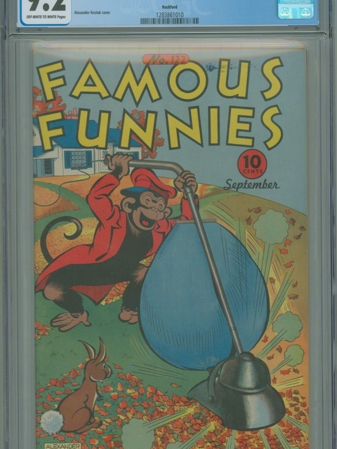 Famous Funnies (1934 series) #122