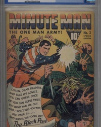 Minute Man (1941 series) #3