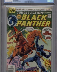 Jungle Action (1972 series) #22 [Regular Edition]