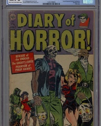 Diary of Horror (1952 series) #1