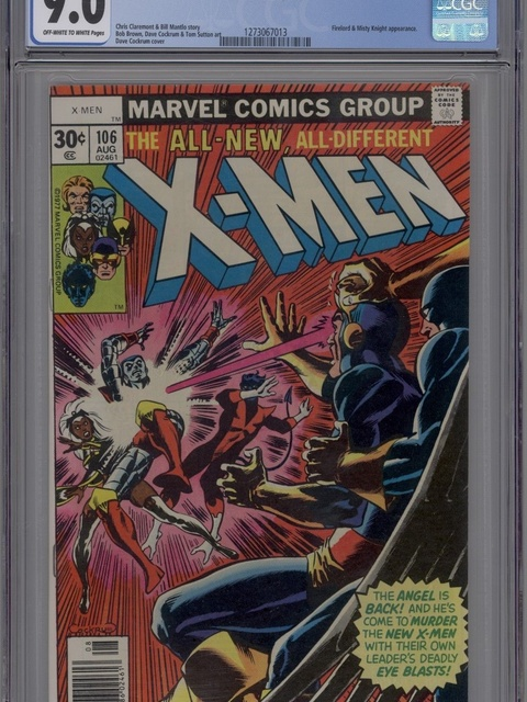 The X-Men (1963 series) #106 [30 cent cover]