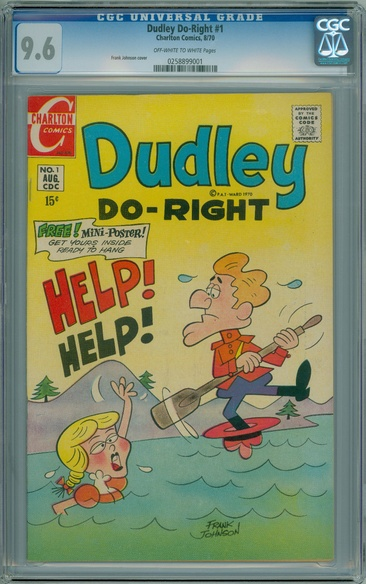 Dudley Do-Right (1970 series) #1