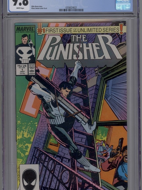 The Punisher (1987 series) #1 [direct]