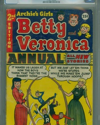 Archie's Girls, Betty and Veronica Annual (1953 series) #2
