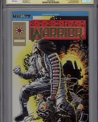 Eternal Warrior (1992 series) #1 [Gold logo edition]