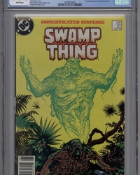 The Saga of Swamp Thing (1982 series) #37 [Newsstand]